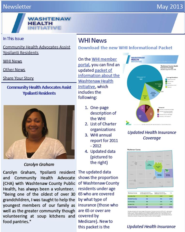 Download the May 2013 Newsletter