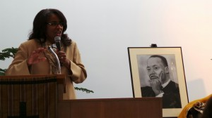 Dr. Neighbors delivers the honorary Martin Luther King, Jr. sermon